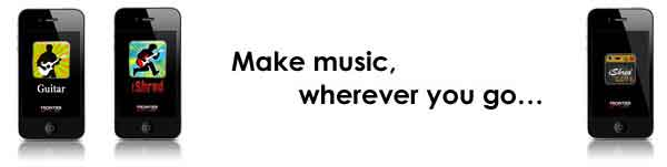 Make music, wherever you go…